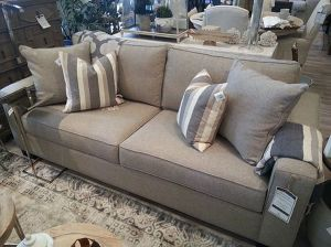 Need a sofa right away? Our Calvin floor sample is now for sale, and at a reduced price! Was $1699 Now $1275