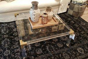 """Zahara Cocktail Table 40""""(W) x 16.5""""(H) x 40""""(D)"""
