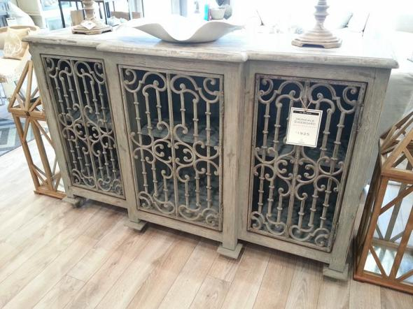 "Irondale Sideboard 58.5""W x 16.5""D x 37.5""H"